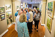 A reception for the opening of the annual En Plein Air exhibit at the Abita Springs Trailhead Museum on April 26, 2019