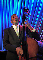 Legendary bassist Ron Carter performing at the Blue Note in NYC on April 5, 2012.