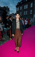 Audrey Tautou sur le tapis rouge  lors de la soirée de remise des bayards lors de la  29eme édition du Festival du Film Francophone, Namur le 03 octobre 2014 Belgique