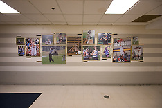 Athletics Picture Wall - University Center