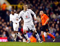 Tottenham's Dean Parrett Tottenham Hotspur Vs Shakhtar Donetsk at White Hart Lane London England<br /> UEFA Cup Third Round Second Leg.<br /> 26/02/2009. Credit Colorsport  / Kieran Galvin