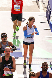 Abigail Anderson, sister of Gabe Grunewald<br /> TCS New York City Marathon 2019