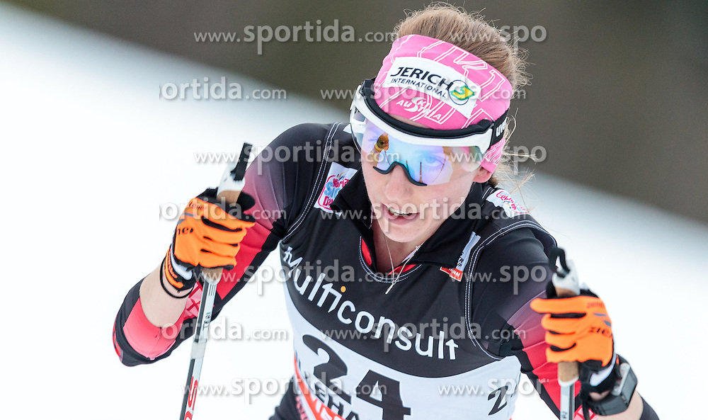 05.12.2015, Nordic Arena, NOR, FIS Weltcup Langlauf, Lillehammer, Damen, im Bild Teresa Stadlober (AUT) // Teresa Stadlober of Austria during Ladies Cross Country Competition of FIS Cross Country World Cup at the Nordic Arena, Lillehammer, Norway on 2015/12/05. EXPA Pictures © 2015, PhotoCredit: EXPA/ JFK