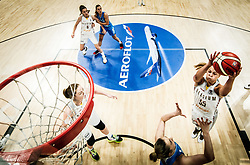 Julie Allemand of Belgium during basketball match between Women National teams of Belgium and Slovenia in the Qualification for the Quarter-Finals of Women's Eurobasket 2019, on July 2, 2019 in Belgrade Arena, Belgrade, Serbia. Photo by Vid Ponikvar / Sportida
