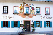 Gasthof Post Klais hotel in the village of Klais in Bavaria, Germany