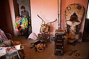 Jan. 13, 2011 -- Kukeri, babugeri, survakari -- Balkan traditions.