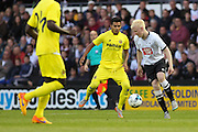 Will Hughes during the Pre-Season Friendly match between Derby County and Villarreal CF at the iPro Stadium, Derby, England on 29 July 2015. Photo by Aaron Lupton.