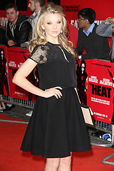 © Licensed to London News Pictures. 13/06/2013. Natalie Dormer; Game of Thrones,  at The Heat gala screening, Curzon Mayfair cinema, London UK, 13 June 2013. Photo credit : Richard Goldschmidt/Piqtured/LNP