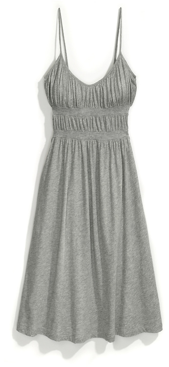 clu grey dress