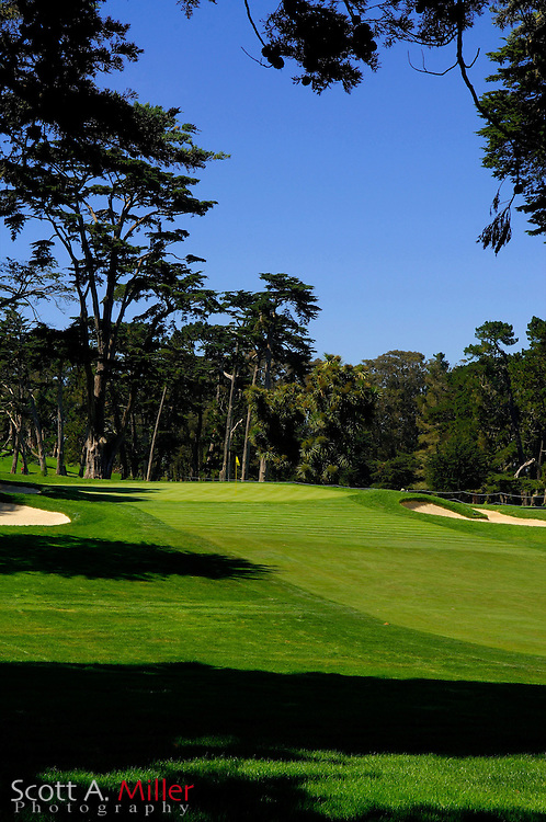 San Francisco -- Aug. 19, 2007 --  Hole No. 11 on the Lake Course at the Olympic Club in San Francisco...©2007 Scott A. Miller