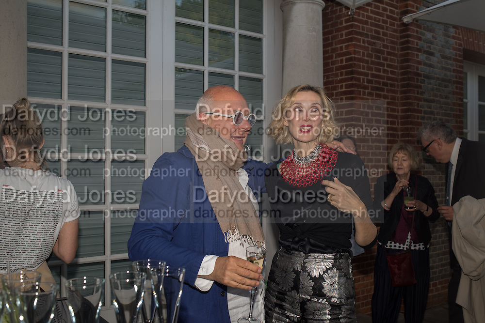 ROLF SACHS; ALLEGRA HICKS, Party  to celebrate Julia Peyton-Jones's  25 years at the Serpentine. London. 20 June 2016
