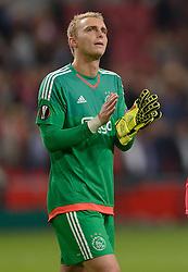 17-09-2015 NED: UEFA Europa League AFC Ajax - Celtic FC, Amsterdam<br /> Ajax heeft in zijn eerste duel in de Europa League thuis moeizaam met 2-2 gelijkgespeeld tegen Celtic / Jasper Cillessen #1