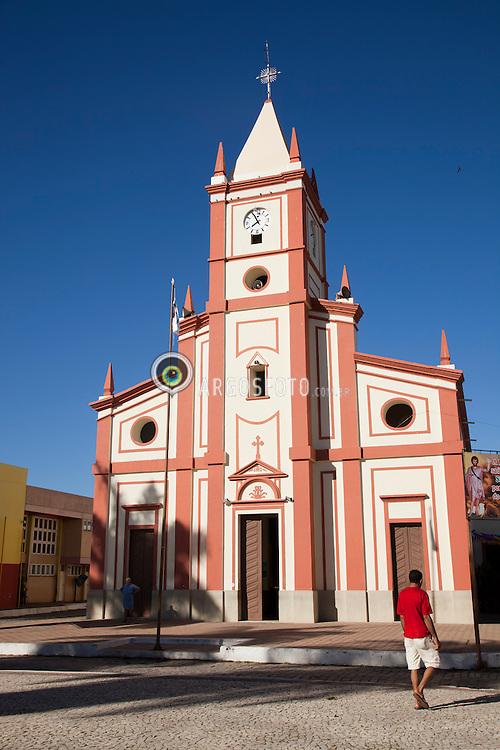 Igreja de Sao Joao Batista em Cedro, no Ceara / Church of St. John the Baptist in Cedro, Ceara, Brazil.