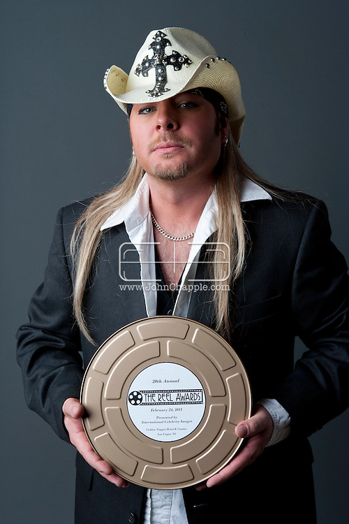 24th February 2011. Las Vegas, Nevada.  Celebrity Impersonators from around the globe were in Las Vegas for the 20th Annual Reel Awards Show. Pictured is Shannon Michaels as Poison frontman Bret Michaels. Photo © John Chapple / www.johnchapple.com..