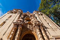 Casa del Prado Theater, Balboa Park, San Diego, California USA.