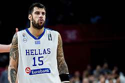 Georgios Printezis of Greece during basketball match between National Teams of Greece and Russia at Day 14 in Round of 16 of the FIBA EuroBasket 2017 at Sinan Erdem Dome in Istanbul, Turkey on September 13, 2017. Photo by Vid Ponikvar / Sportida