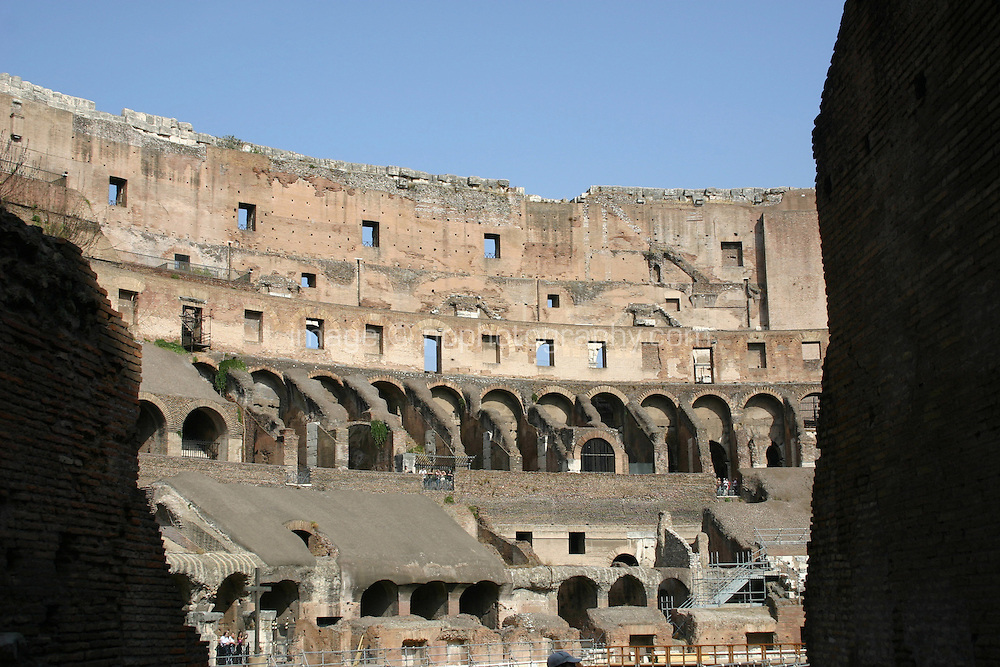 Ancient roman monument the Colosseum, Rome, Italy.<br />