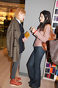 SIENNA GUILLORY; YASMINE MILLS, Smythson Sloane St. Store opening. London. 6 February 2012.