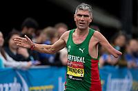 Manuel Mendes POR in the T46 Men World Para Athletics Marathon Championships. The Virgin Money London Marathon, 28 April 2019.<br /> <br /> Photo: Jon Buckle for Virgin Money London Marathon<br /> <br /> For further information: media@londonmarathonevents.co.uk