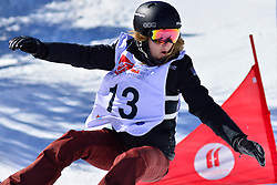 World Cup Banked Slalom, PURDY Amy, USA at the 2016 IPC Snowboard Europa Cup Finals and World Cup