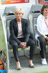 26.06.2011, Olympiastadion Berlin, Berlin, GER, FIFA Women's Worldcup 2011, Gruppe A,  Deutschland (GER) vs. Canada (CAN), im Bild Silvia Neid (Trainerin / COACH GER ) // during the FIFA Women's Worldcup 2011, Pool A, Germany vs Canada on 2011/06/26, Olympiastadion, Berlin, Germany.   EXPA Pictures © 2011, PhotoCredit: EXPA/ nph/  Kokenge       ****** out of GER / SWE / CRO  / BEL ******