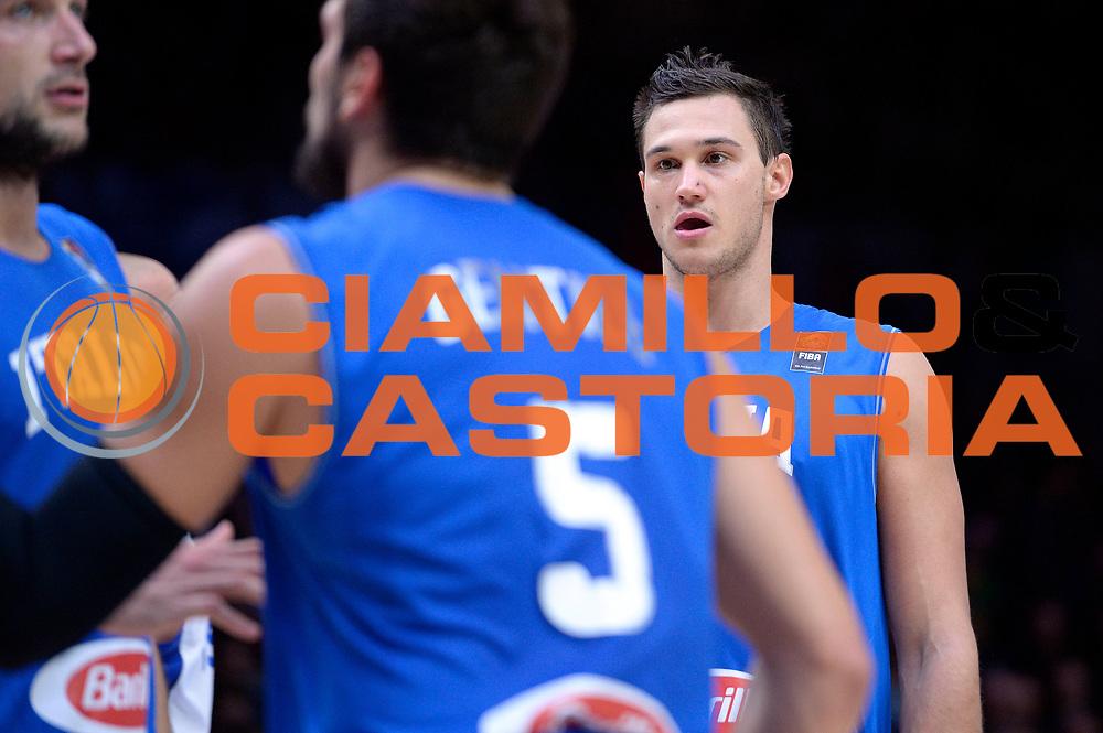 DESCRIZIONE : Lille Eurobasket 2015 Ottavi di Finale Eight Finals Israele Italia Israel Italy<br /> GIOCATORE : Danilo Gallinari<br /> CATEGORIA : ritratto<br /> SQUADRA : Italia Italy<br /> EVENTO : Eurobasket 2015 <br /> GARA : Israele Italia Israel Italy<br /> DATA : 13/09/2015 <br /> SPORT : Pallacanestro <br /> AUTORE : Agenzia Ciamillo-Castoria/Max.Ceretti<br /> Galleria : Eurobasket 2015 <br /> Fotonotizia : Lille Eurobasket 2015 Ottavi di Finale Eight Finals Israele Italia Israel Italy