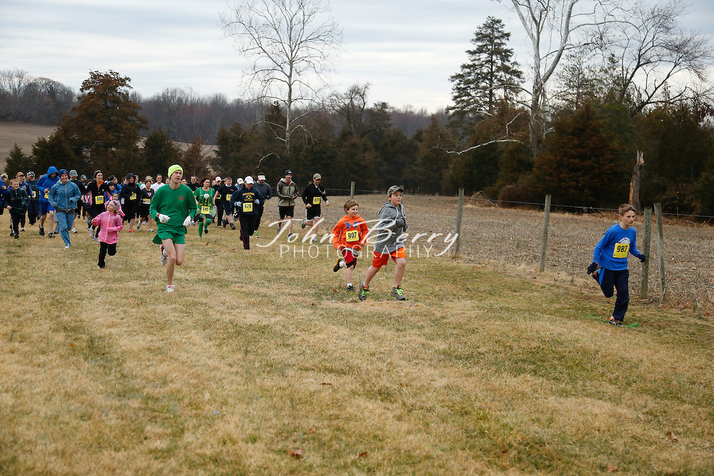 March/16/13:  Leprechaun Launch 2013.  Madison Primary School Playground Fundraiser at Hoover Ridge, Madison, VA.