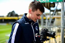 Tom Minty prior to kick off - Mandatory by-line: Ryan Hiscott/JMP - 04/05/2019 - FOOTBALL - Memorial Stadium - Bristol, England - Bristol Rovers v Barnsley - Sky Bet League One