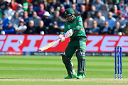 Mushfiqur Rahim (wk) of Bangladesh plays a scoop shot during the ICC Cricket World Cup 2019 match between England and Bangladesh the Cardiff Wales Stadium at Sophia Gardens, Cardiff, Wales on 8 June 2019.