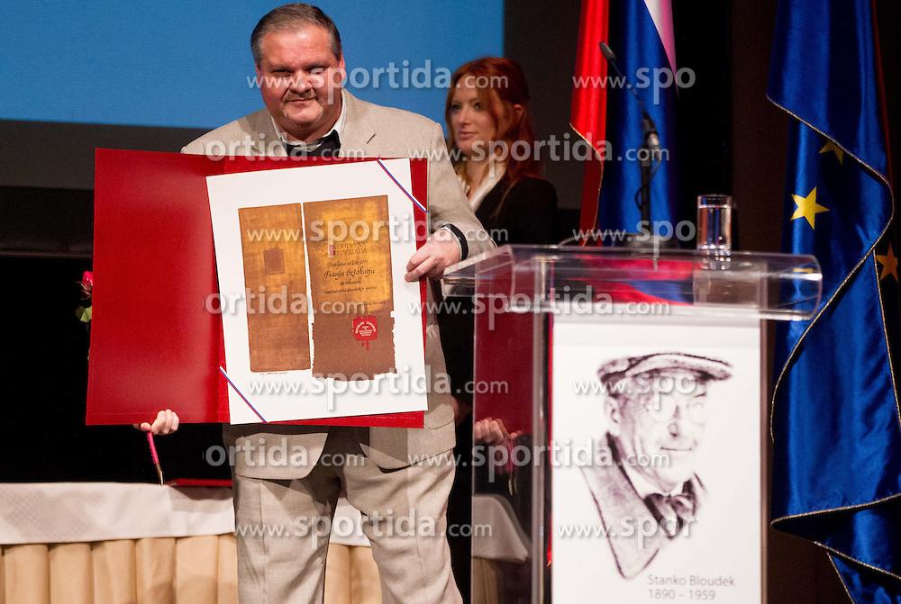 Franjo Izlakar at 48th Annual Awards of Stanko Bloudek for sports achievements in Slovenia in year 2012 on February 12, 2013 in Grand Hotel Union, Ljubljana, Slovenia. (Photo By Vid Ponikvar / Sportida)