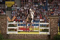 Alvarez Moya Sergio, (ESP), Carlo 273<br /> Individual competition round 3 and Final Team<br /> FEI European Championships - Aachen 2015<br /> © Hippo Foto - Jon Stroud<br /> 21/08/15