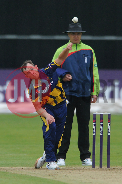 Graham Wagg of Glamorgan - Photo mandatory by-line: Dougie Allward/JMP - Mobile: 07966 386802 - 12/06/2015 - SPORT - Cricket - Bristol - County Ground - Gloucestershire v Glamorgan - Natwest T20 Blast