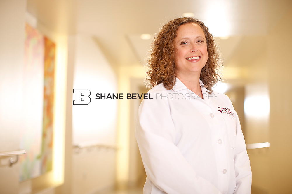5/28/15 4:12:17 PM -- Dr. Renee Frenier of Saint Francis Health System poses for a portrait for the 2015 Advertising Campaign. <br /> <br /> Photo by Shane Bevel