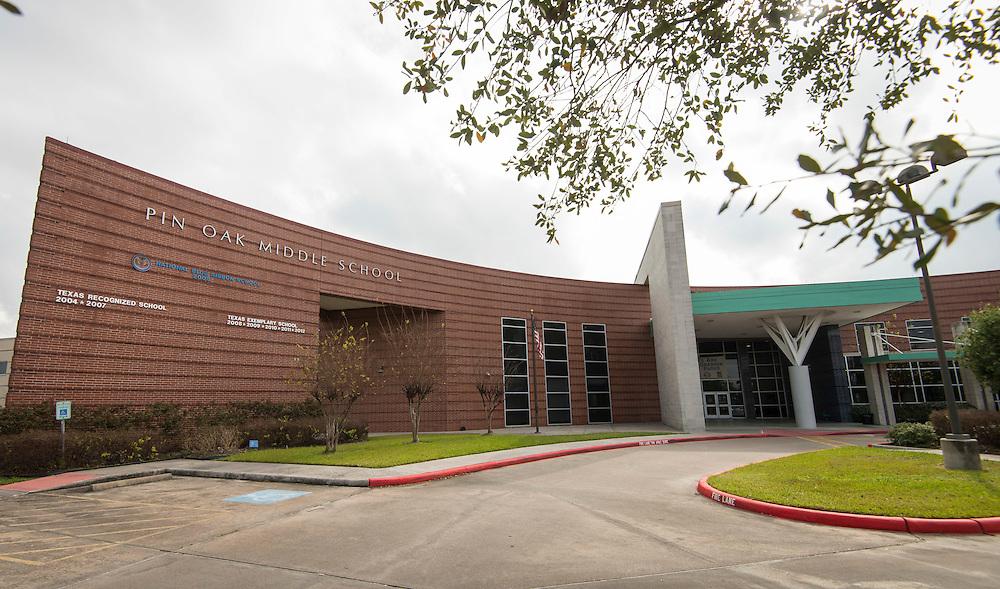Pin Oak Middle School, February 2, 2017.