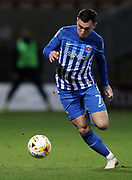Nathan Thomas of Hartlepool United in action during the EFL Sky Bet League 2 match between Cambridge United and Hartlepool United at the Cambs Glass Stadium, Cambridge, England on 14 March 2017. Photo by Harry Hubbard.