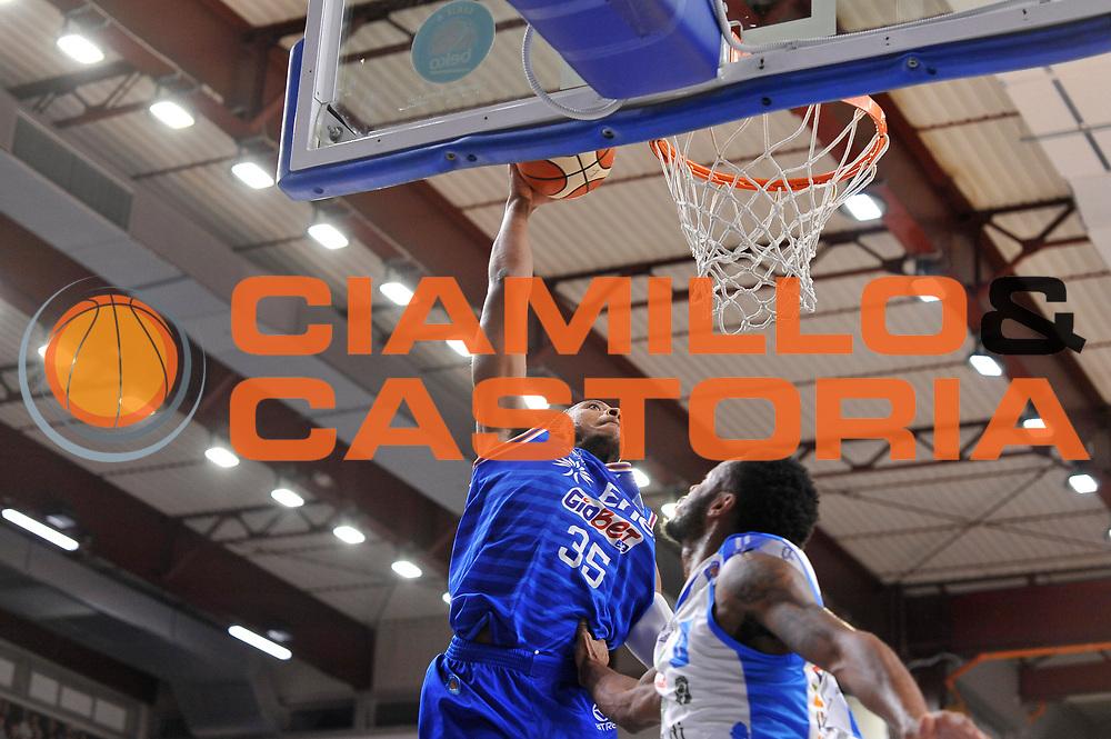 DESCRIZIONE : Beko Legabasket Serie A 2015- 2016 Dinamo Banco di Sardegna Sassari - Enel Brindisi<br /> GIOCATORE : Kenneth Kadji<br /> CATEGORIA : Tiro Penetrazione Schiacciata Sequenza<br /> SQUADRA : Enel Brindisi<br /> EVENTO : Beko Legabasket Serie A 2015-2016<br /> GARA : Dinamo Banco di Sardegna Sassari - Enel Brindisi<br /> DATA : 18/10/2015<br /> SPORT : Pallacanestro <br /> AUTORE : Agenzia Ciamillo-Castoria/C.Atzori