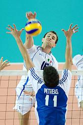 BARONE IN ATTACCO.ITALIA - GRECIA.GIOCHI DEL MEDITERRANEO 2009.CHIETI 02-06-09.FOTO GALBIATI - RUBIN