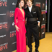 NLD/Amsterdam/20181126 - premiere All You Need Is Love, Holly Brood en partner Soy Kroon
