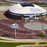 Aerial Image of Texas Stadium, Home of the Dallas Cowboys ([Julia Robertson]/via AP Images)