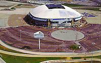 Aerial Image of Texas Stadium, Home of the Dallas Cowboys ([Julia Robertson]/via AP Images)