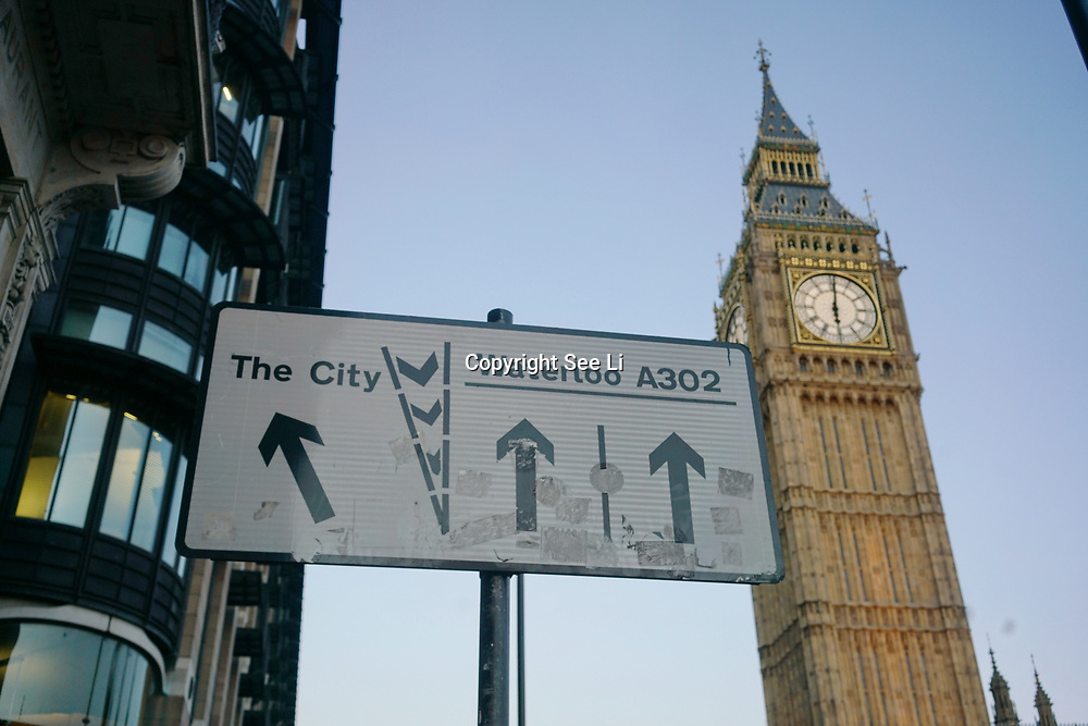 Weather: Big Ben,London,UK. by See Li