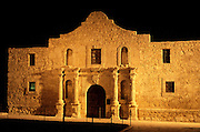 Image of the Alamo in San Antonio, Texas, American Southwest.
