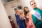 LOS ANGELES, CA - OCTOBER 22, 2016:  <br /> <br /> Kylie Love (Georgia) hams it up for the camera while waiting to take the stage for the final number during the Transnation Queen USA 2016 pageant, a transgender beauty pageant held at The Theater at The Ace Hotel in downtown Los Angeles.<br /> <br /> (Melissa Lyttle for The Guardian)