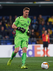 February 21, 2019 - Villarreal, Castellon, Spain - Romain Salin of Sporting Lisboa during the UEFA Europa League Round of 32 Second Leg match between Villarreal and Sporting Lisboa at Estadio de La Ceramica on February 21, 2019 in Vila-real, Spain. (Credit Image: © AFP7 via ZUMA Wire)