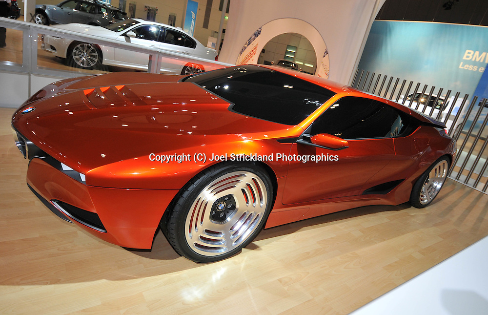 BMW M1 Hommage.Media Preview .Melbourne International Motorshow.Melbourne Exhibition Centre.Clarendon St, Southbank, Melbourne .Friday 27th of February 2009.(C) Joel Strickland Photographics.