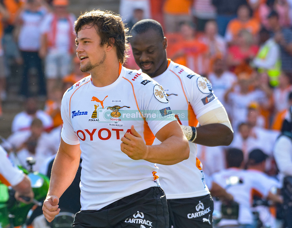 Nico Lee of the Free State Cheetahs during the Currie Cup Final between the The Free State Cheetahs and Blue Bulls held at Toyota Stadium (Free State Stadium), Bloemfontein, South Africa on the 22nd October 2016<br /> <br /> Photo by:   Frikkie Kapp / Real Time Images