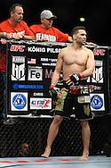 OBERHAUSEN, GERMANY, NOVEMBER 13, 2010: Kris McCray during UFC 122 inside the Konig Pilsner Arena in Oberhausen, Germany.