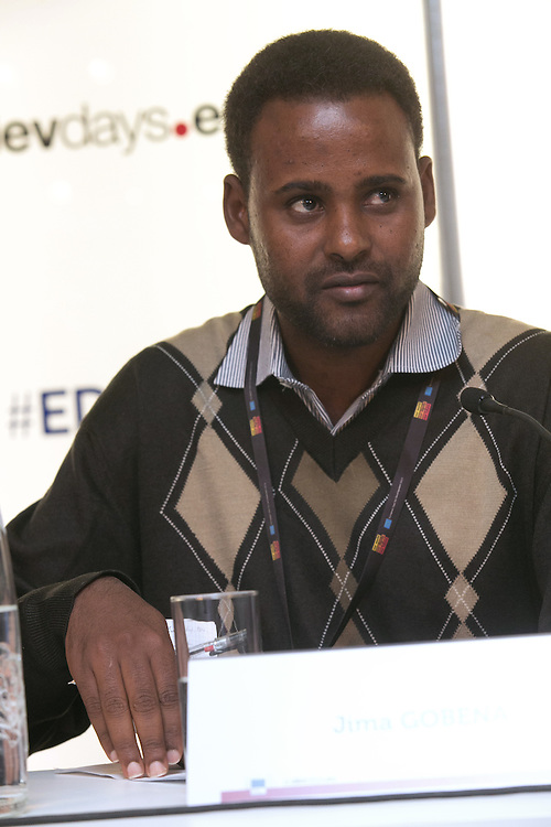03 June 2015 - Belgium - Brussels - European Development Days - EDD - Food - Small-scale farming and sustainable food systems - Jima Gobena , Project coordinator , Vicariate of Meki , Ethiopia © European Union