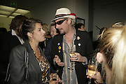 Tracey Emin and Nick Reynolds from Alabama 3, Johnnie Shand Kydd:  book launch party celebrate the publication of Crash.White Cube. Hoxton sq. London. 18 September 2006. ONE TIME USE ONLY - DO NOT ARCHIVE  © Copyright Photograph by Dafydd Jones 66 Stockwell Park Rd. London SW9 0DA Tel 020 7733 0108 www.dafjones.com