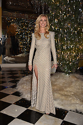Jenny Halpern-Prince at reception to celebrate the launch of the Claridge's Christmas Tree 2017 at Claridge's Hotel, Brook Street, London England. 28 November 2017.<br /> Photo by Dominic O'Neill/SilverHub 0203 174 1069 sales@silverhubmedia.com